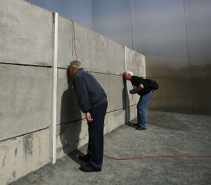 muro mirar a traves